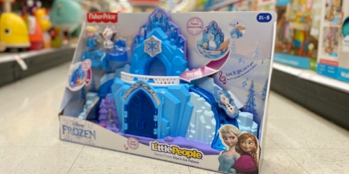 Fisher-Price Little People Disney Frozen Elsa's Ice Palace from $28.49 on Target.com (Regularly $40)