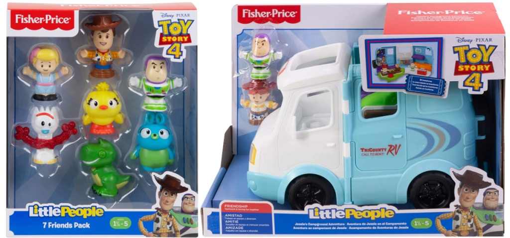 Fisher Price Little People Toy Story 4 toys