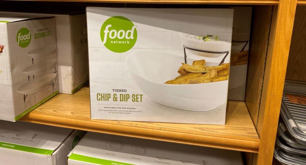 Perangkat Keripik dan Celup Food Network