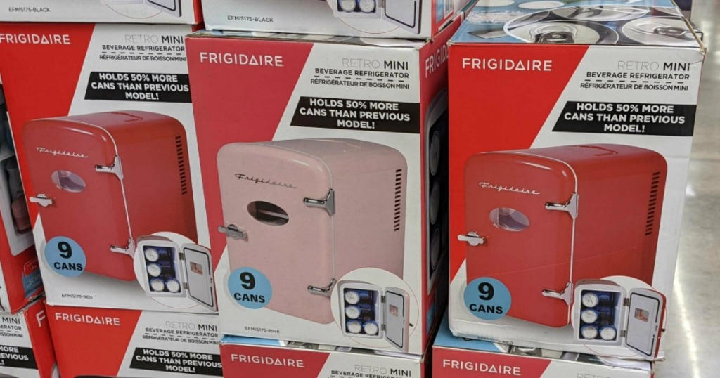 mini fridges at walmart
