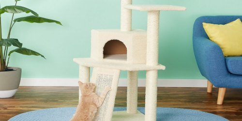 52″ Cat Tree & Condo Just $31.82 Shipped on Chewy.com (Regularly $53) | Awesome Reviews