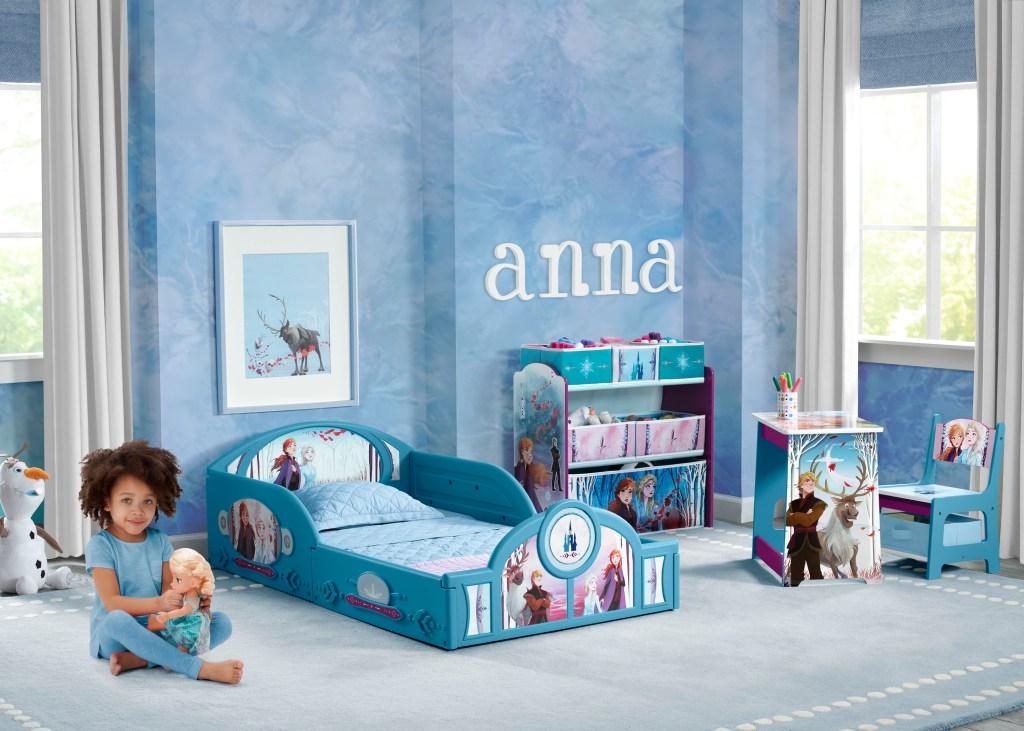 Frozen Delta Toddler bed Set