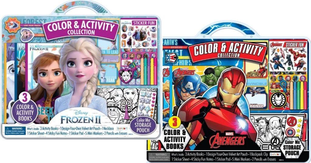 Frozen II & Marvel Avenger Craft Kits