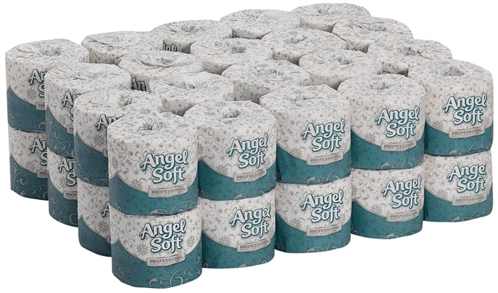 Georgia Pacific Angel Soft Professional Series Premium 2-Ply 40-Count Toilet Paper Rolls