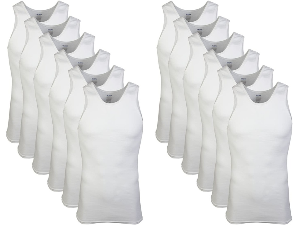 12 tangki putih