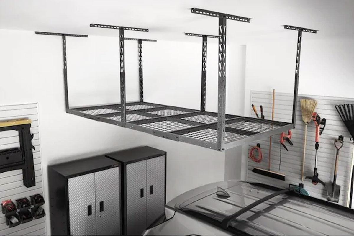 Overhead Garage Metal Storage Racks From 49 99 On Homedepot Com Regularly 70 Hip2save