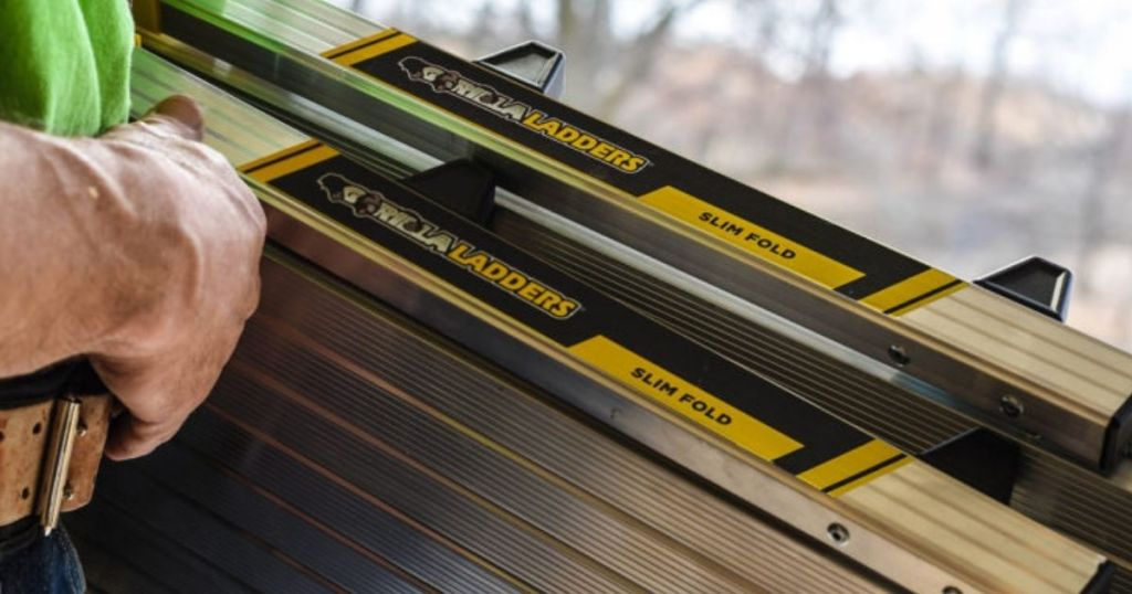Gorilla Ladders Slim Fold Platform