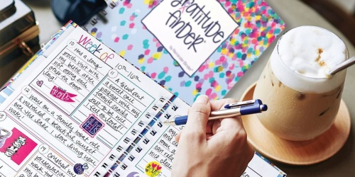 52-Week Gratitude Journal w/ 165 Stickers Only $12.94 Shipped | Great Gift for the Family
