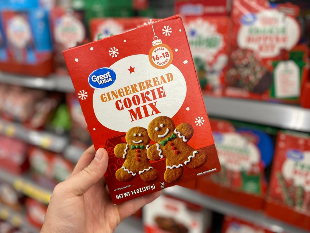 Great Value Gingerbread Cookie Mix