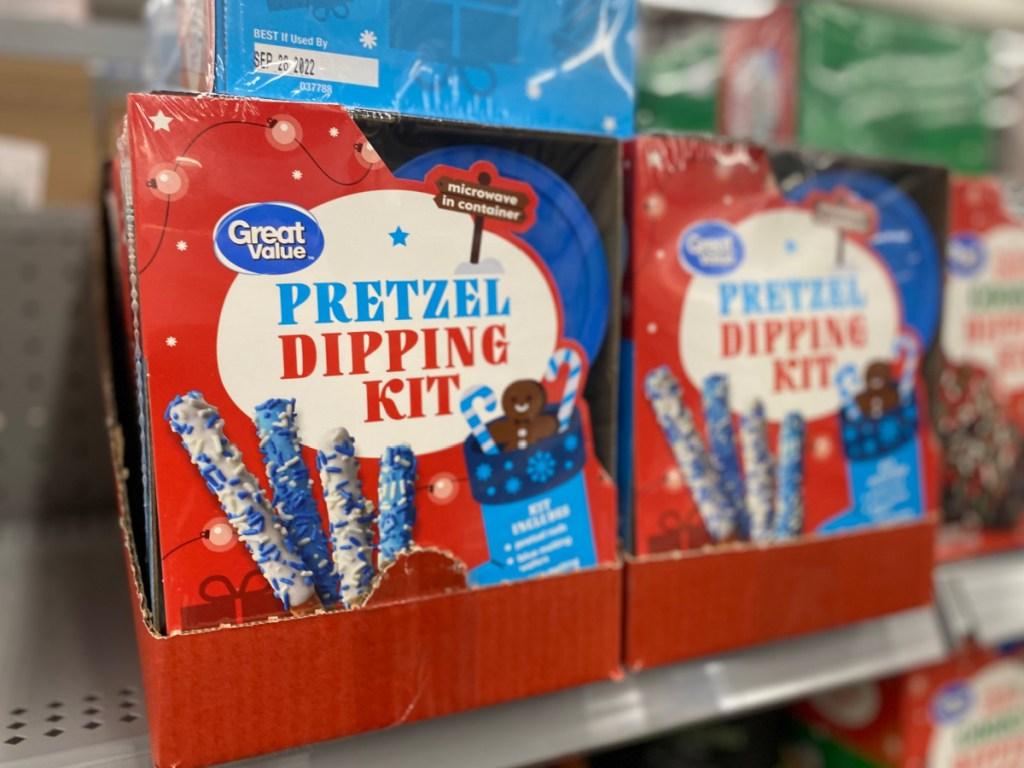 great value pretzel dipping kit
