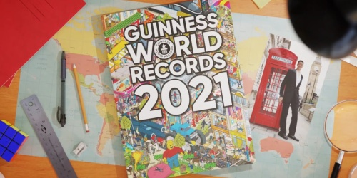 Guinness World Records 2021 Hardcover Book Only $13.25 on Amazon (Regularly $29)