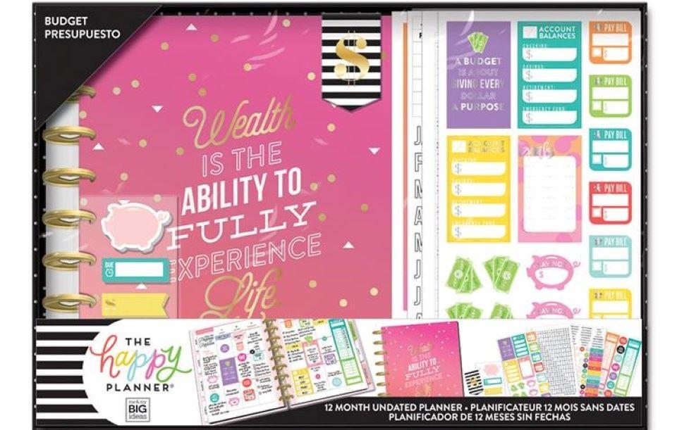 Happy Planner Budget kit