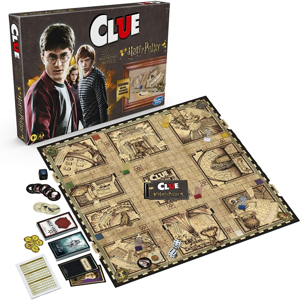 Harry Potter Clue board game and box