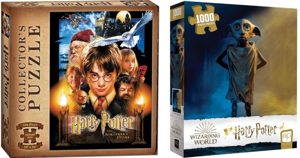 two Harry Potter puzzles