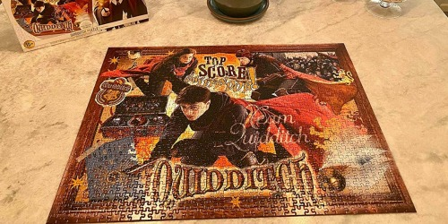 Jigsaw Puzzles from $9.99 on Zulily (Regularly $16+) | Harry Potter, Wizard of Oz & More