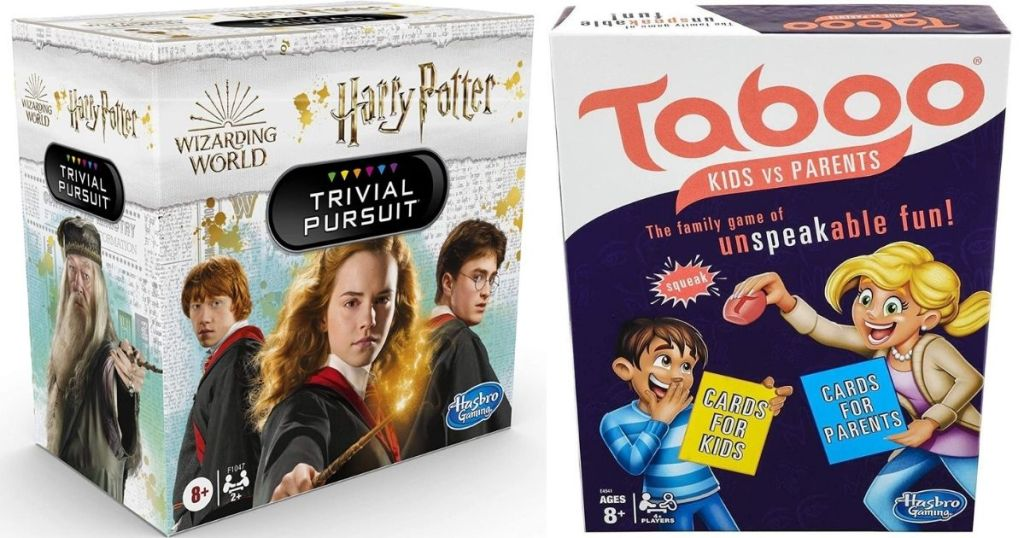 Harry Potter Trivial Pursuit and Taboo