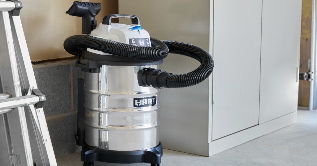 Large Stainless steel vacuum cleaner