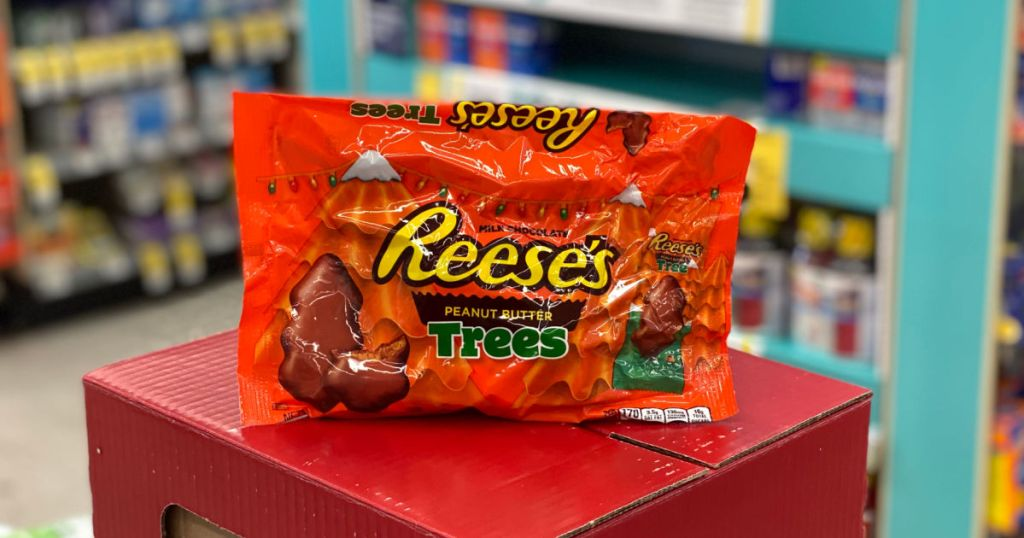 reese's candy on box