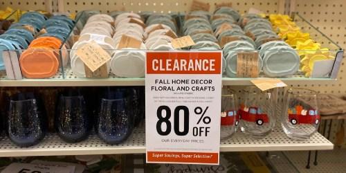 80% Off Hobby Lobby Fall Decor, Drinkware, & More