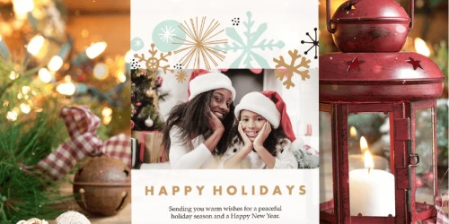 25 Holiday Photo Cards Only $12 at Staples + Same Day Pick Up