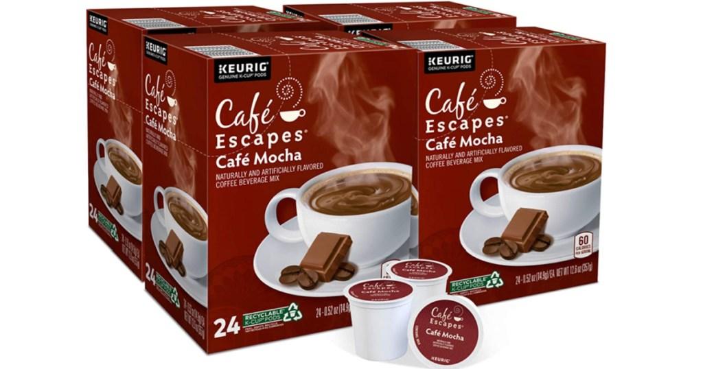 nescafe cafe mocha k cup pods