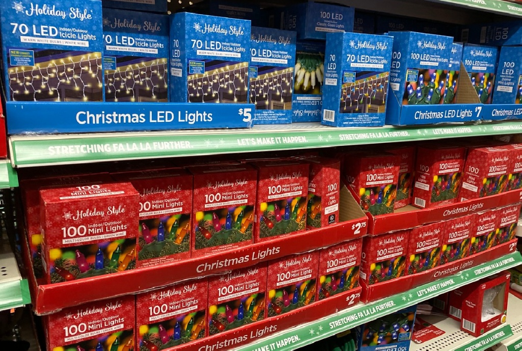 Holiday Lights LED Lights 200-count or Light Sync Mix 100-count