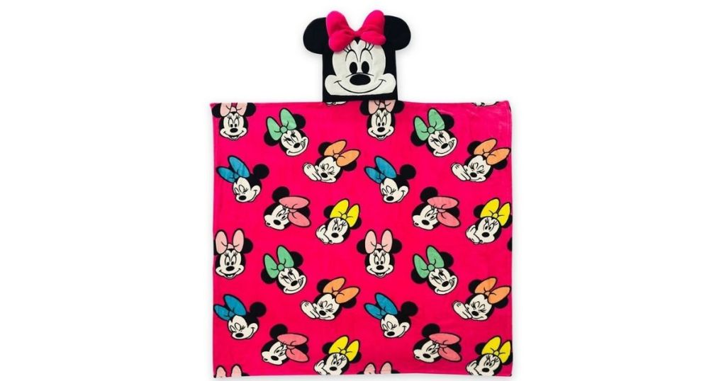 Minnie Hooded Throw