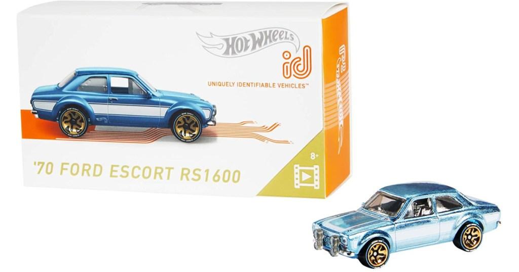 hot wheels id ford escort car