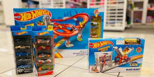 $68 Worth of Hot Wheels Toys Just $51.96 + Get $15 Kohl's Cash | Black Friday Deal