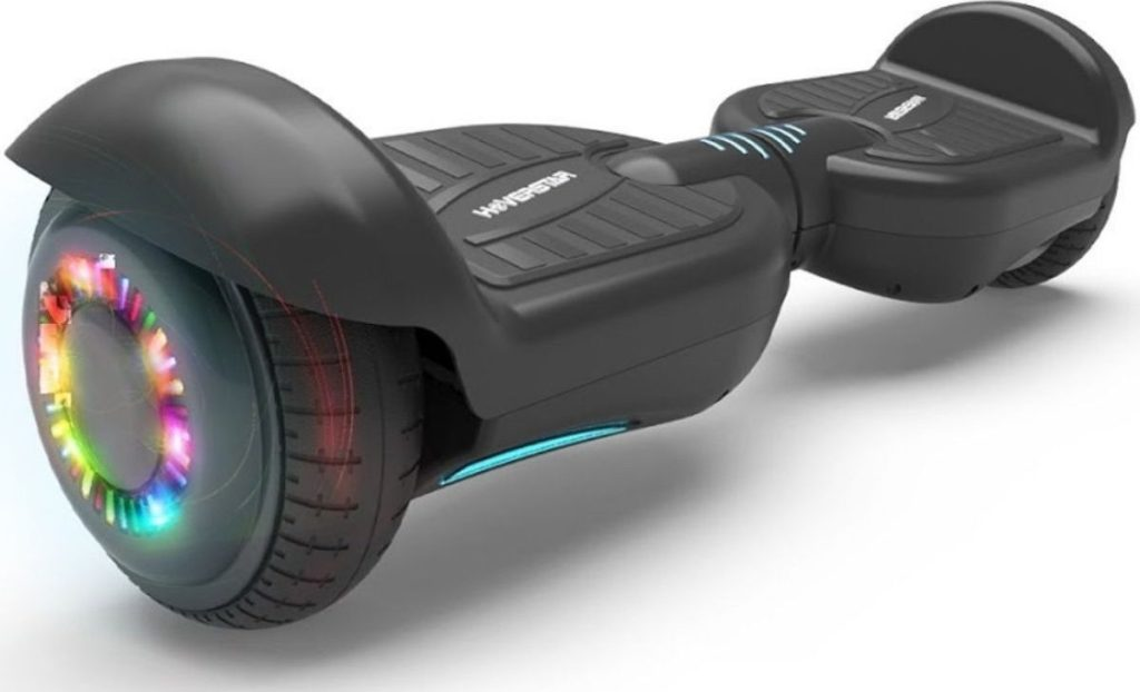 """Hoverboard 6.5"""" Listed Two-Wheel Self Balancing Electric Scooter with LED Light Black"""