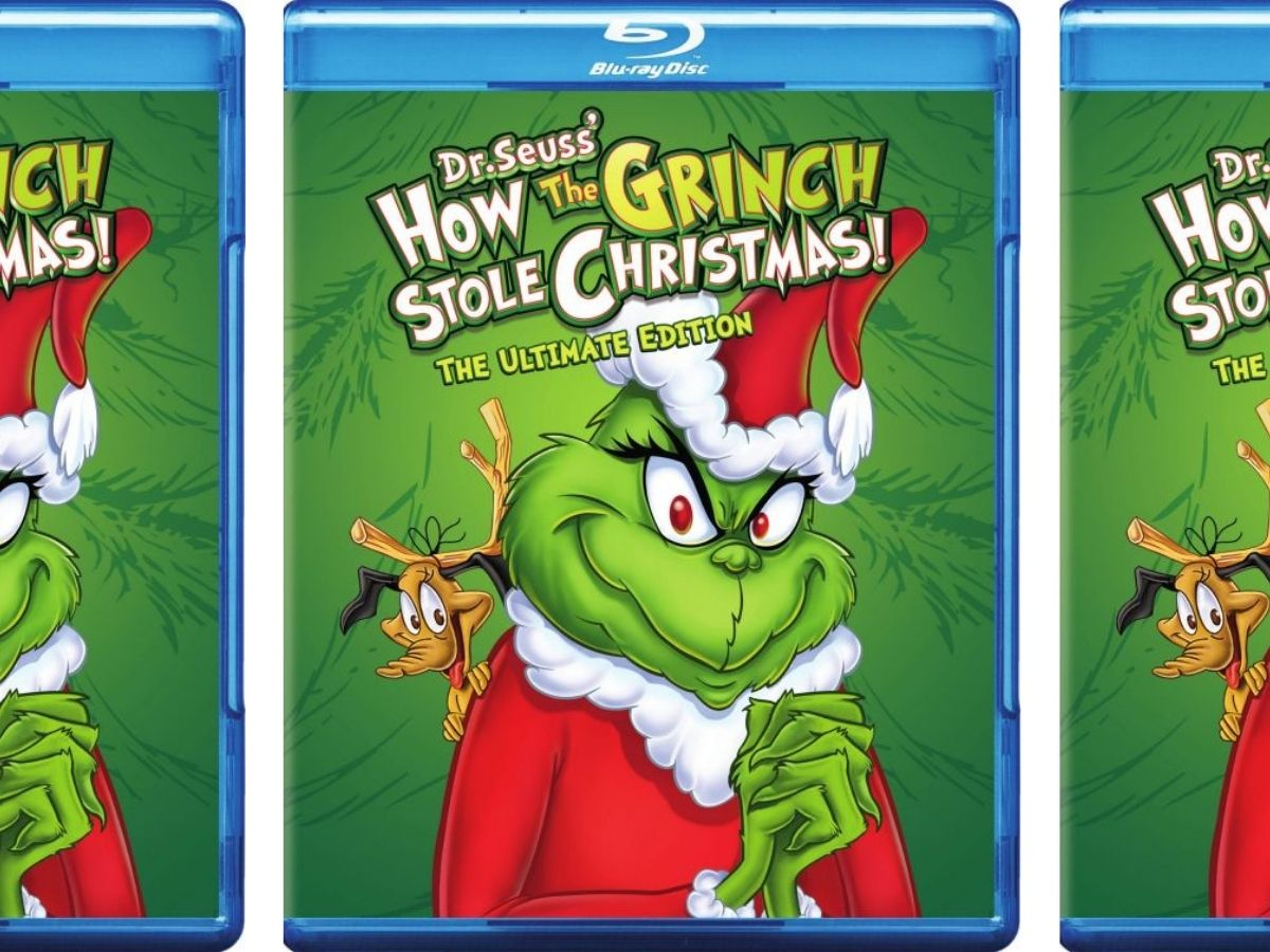 How the Grinch Stole Christmas Blu-ray Movie