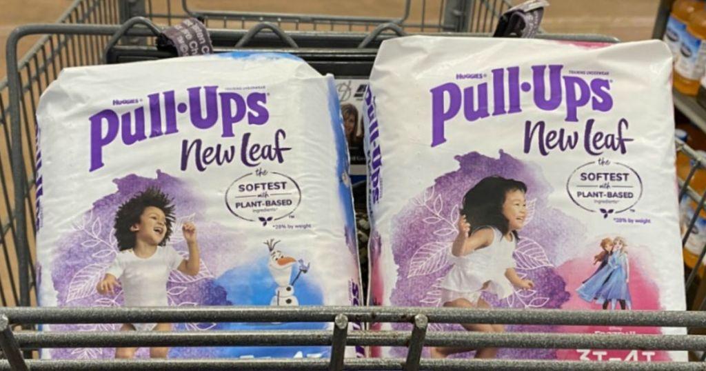 huggies in cart