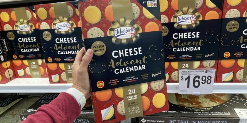 Ilchester Cheese Advent Calendar Only $16.98 at Sam's Club