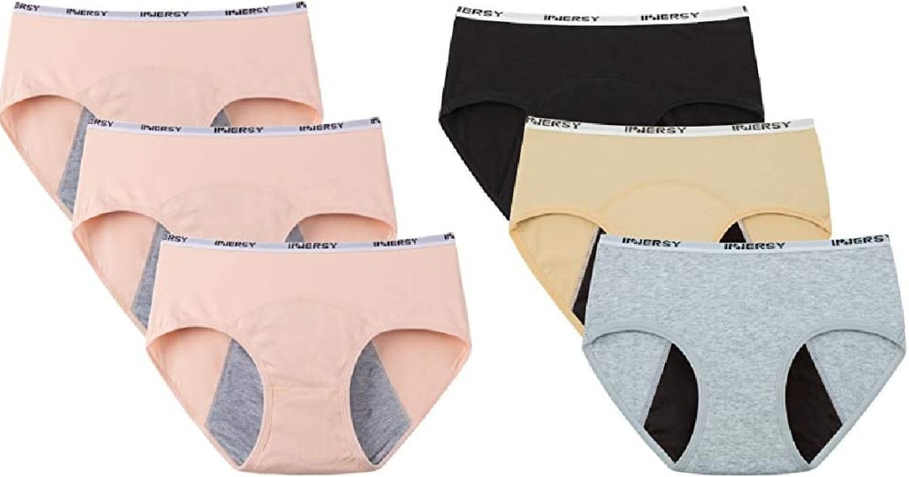 two sets of underwear