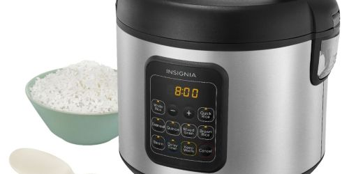 Insignia 20-Cup Rice Cooker & Steamer Just $24.99 on BestBuy.com (Regularly $49)