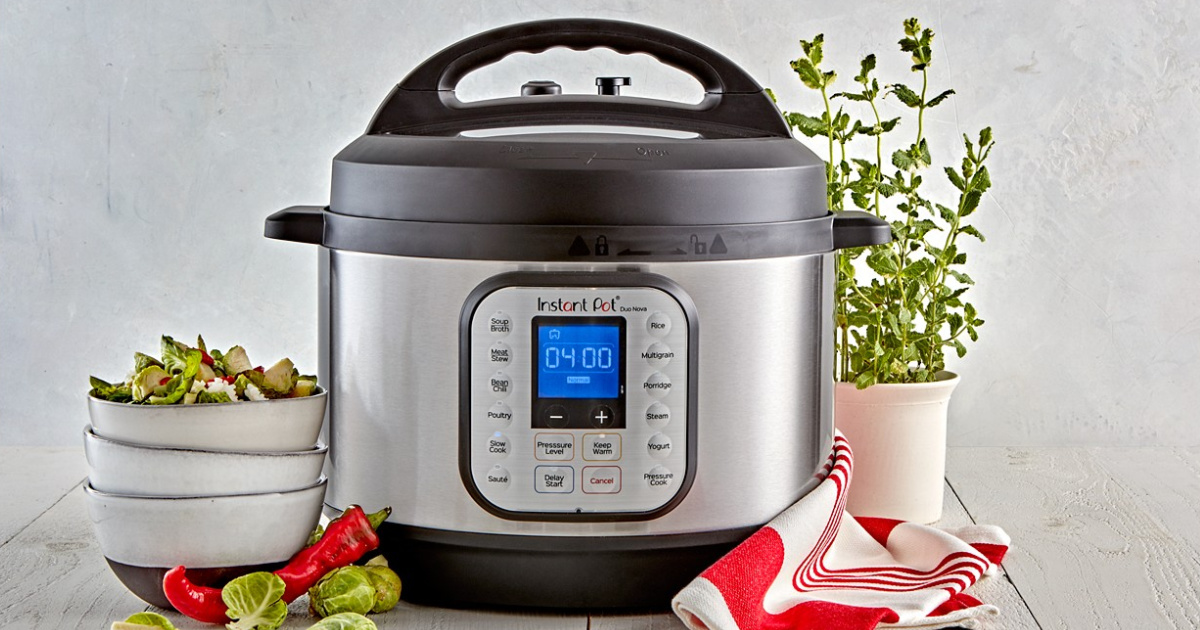 Instant Pot Duo Duo Nova 10-Quart 7-in-1 Multi-Cooker