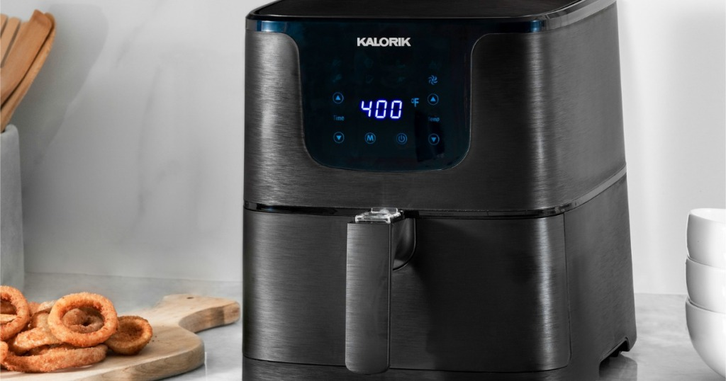 Kalorik Air Fryer on kitchen counter