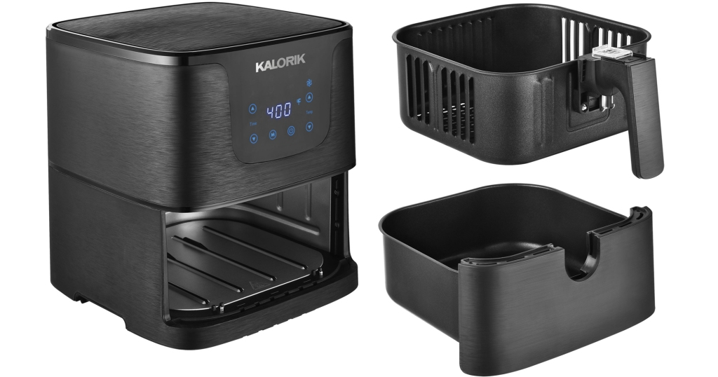 Kalorik Air Fryer stock photo