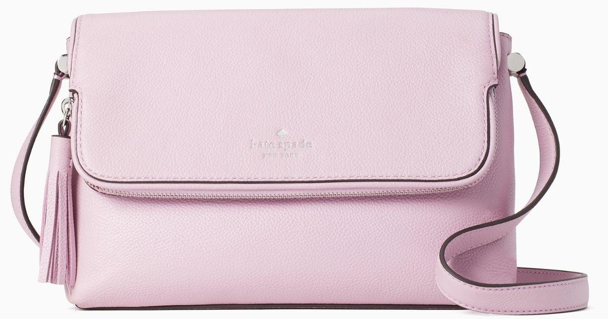 pink crossbody Kate Spade bag