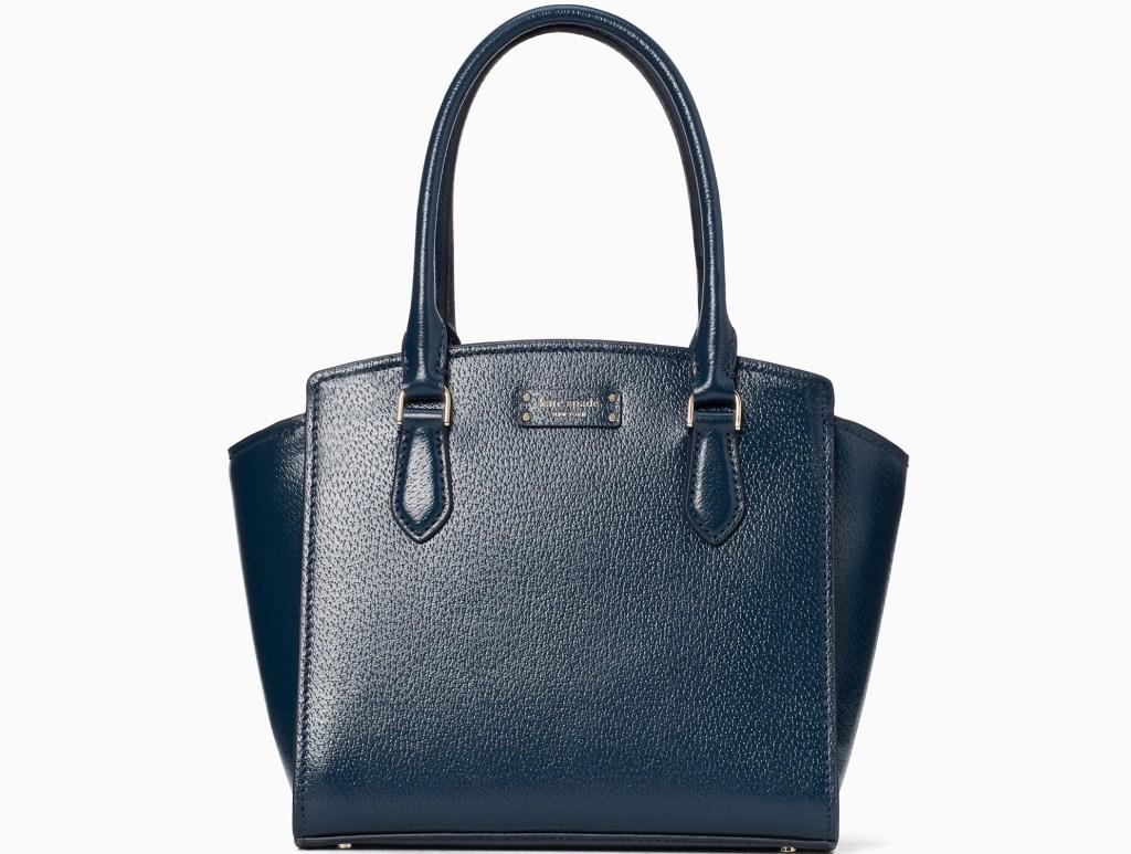 navy blue Kate Spade satchel