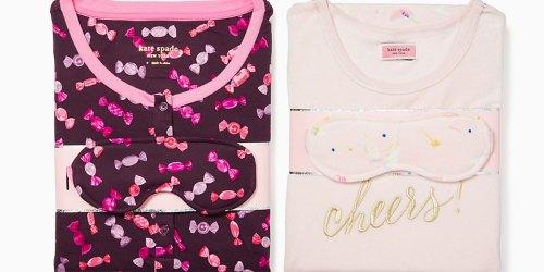 Kate Spade Women's Pajamas & Sleep Mask Sets Only $39 Shipped (Regularly $99)