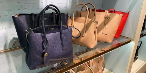 Kate Spade Large Tote Bag Only $76.80 Shipped (Regularly $298) + Rare Savings on New Winter Collection