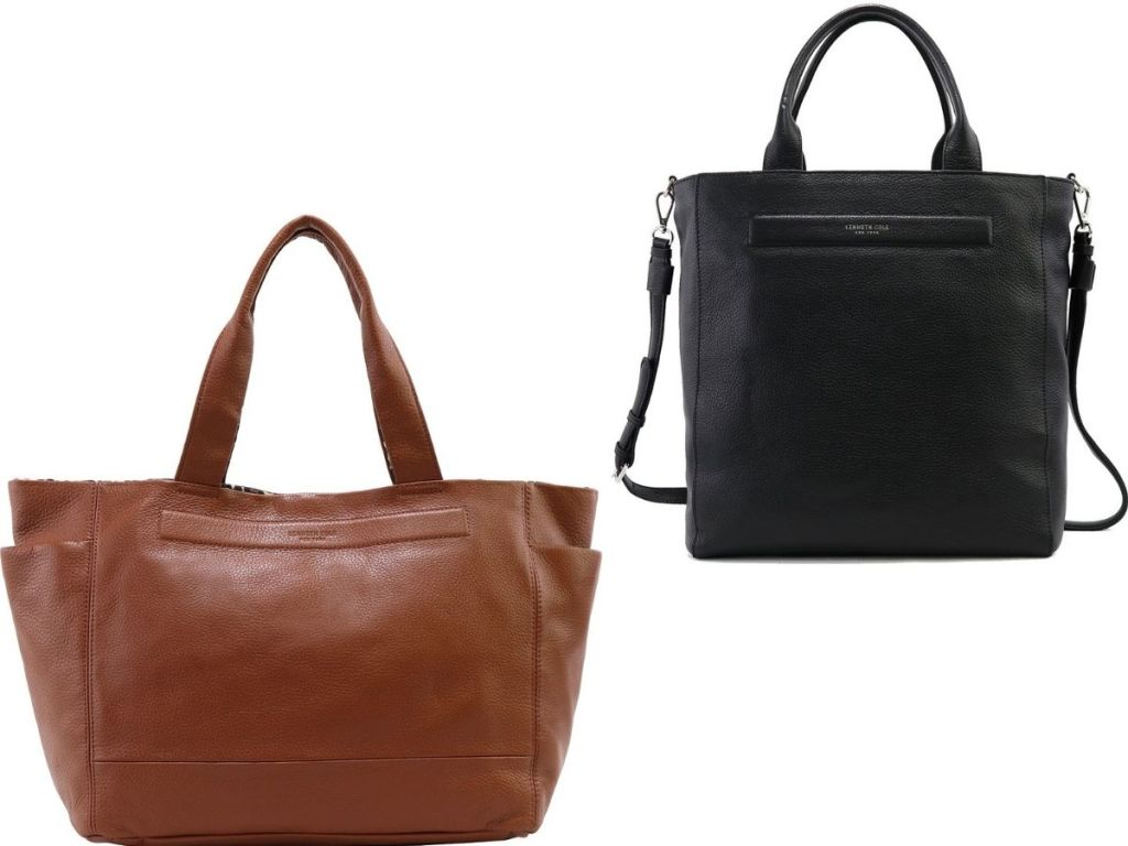 Two Kenneth Cole Leather Purses