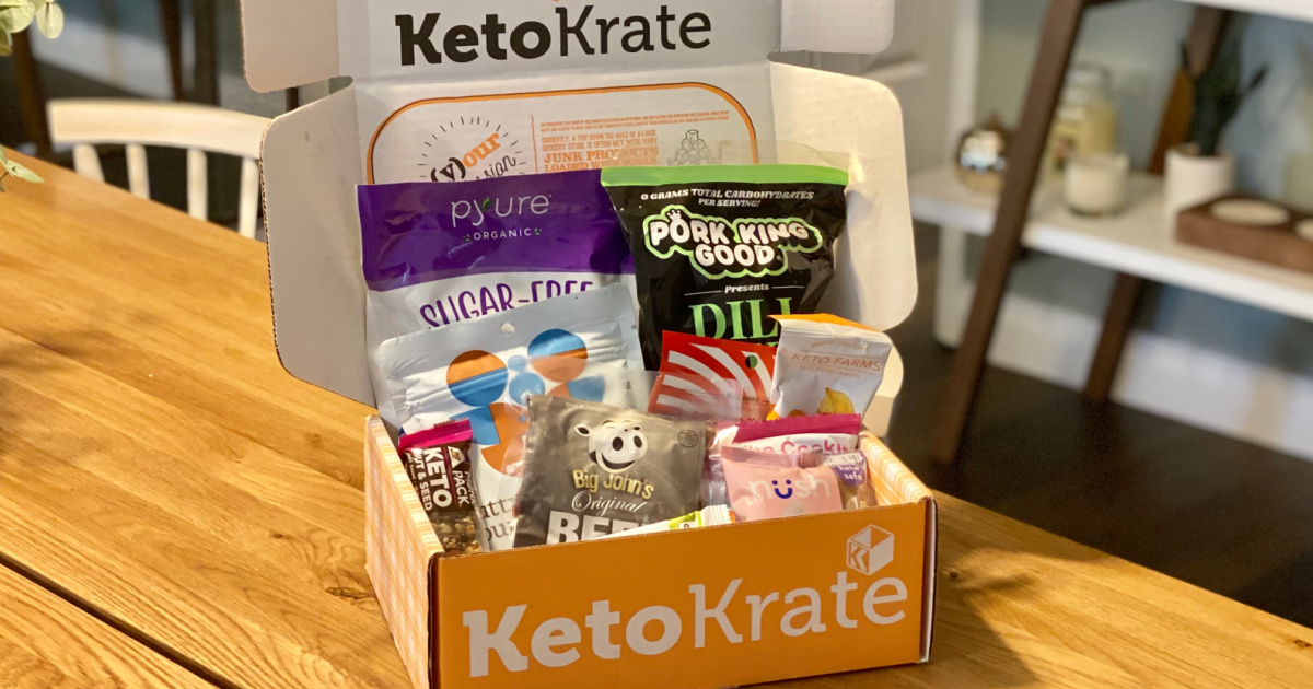 *hot* Mark A Escaped Bonus Keto Krate   $10 Off Your Archetypal Order!