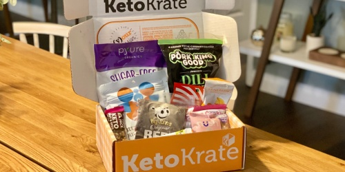 *HOT* Score a FREE Bonus Keto Krate + $10 Off Your First Order!