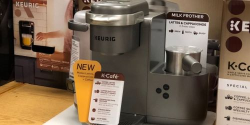 Keurig K-Cafe Coffee, Latte & Cappuccino Maker from $96.89 Shipped (Regularly $250) + Get $10 Kohl's Cash