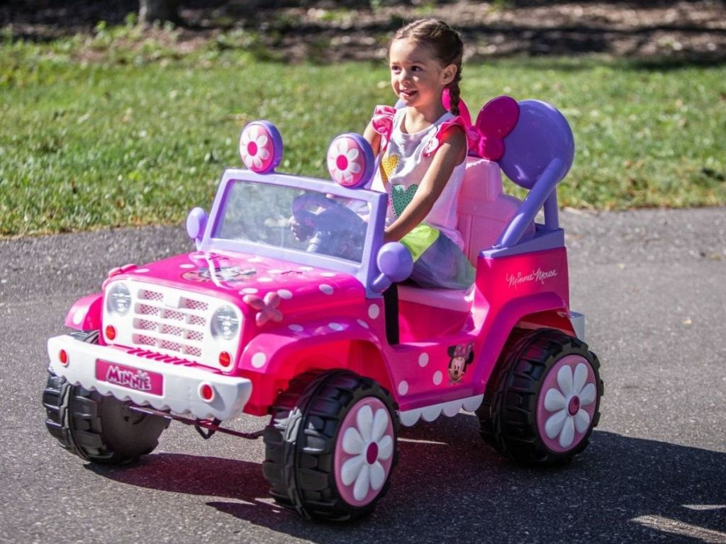 Kid Trax Minnie Mouse Jeep