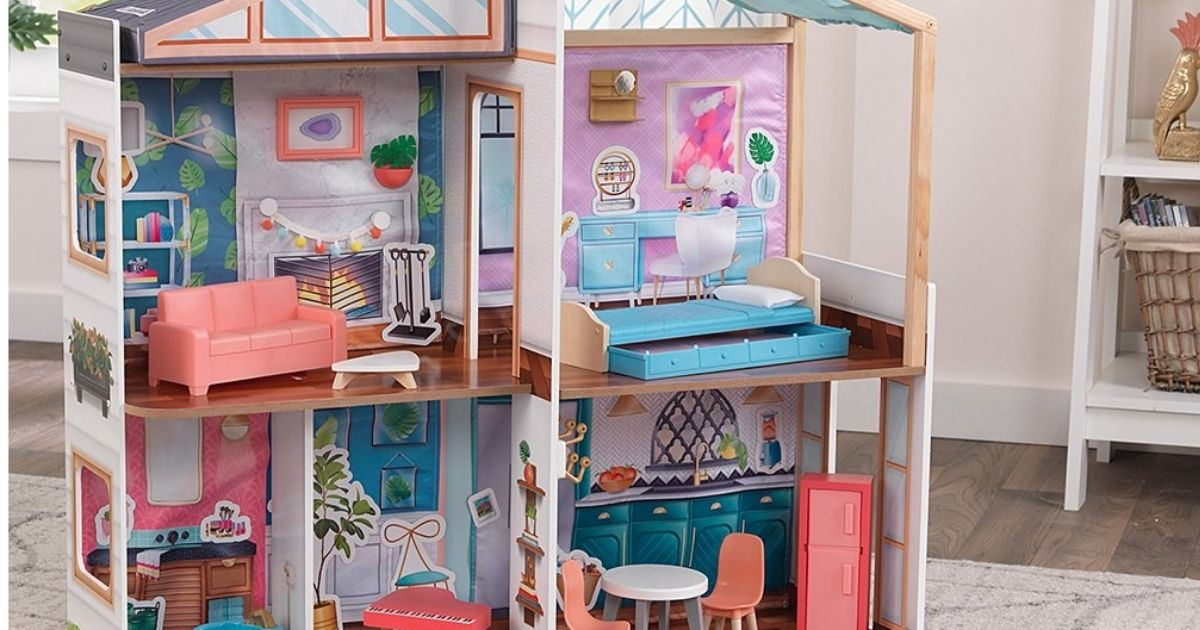 KidKdraft Dollhouse with furniture