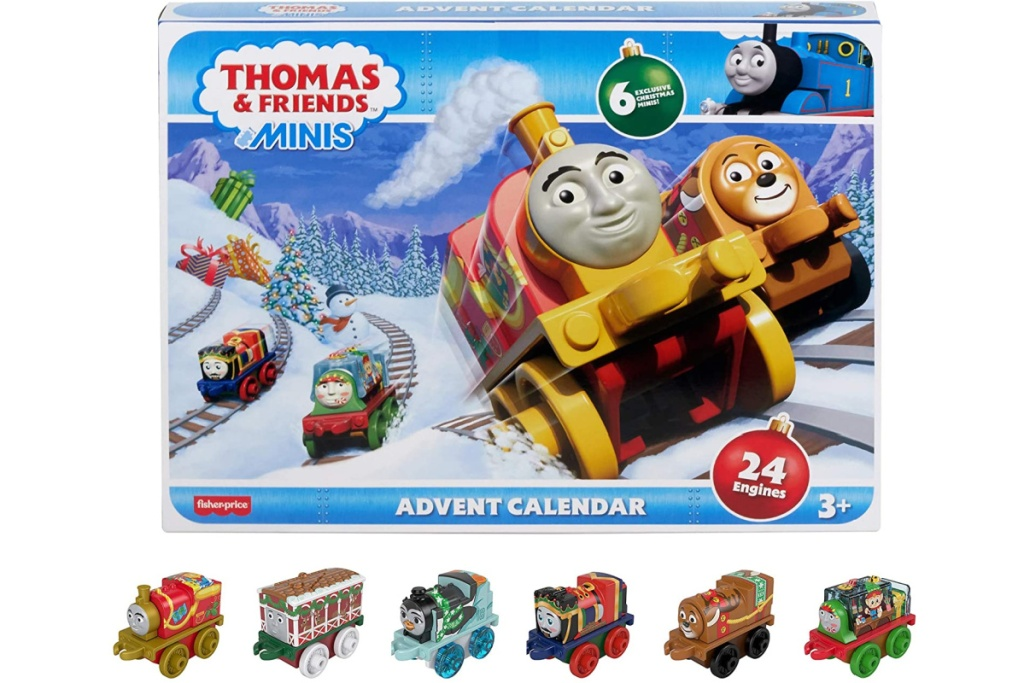 thomas & friends holiday advent calendar