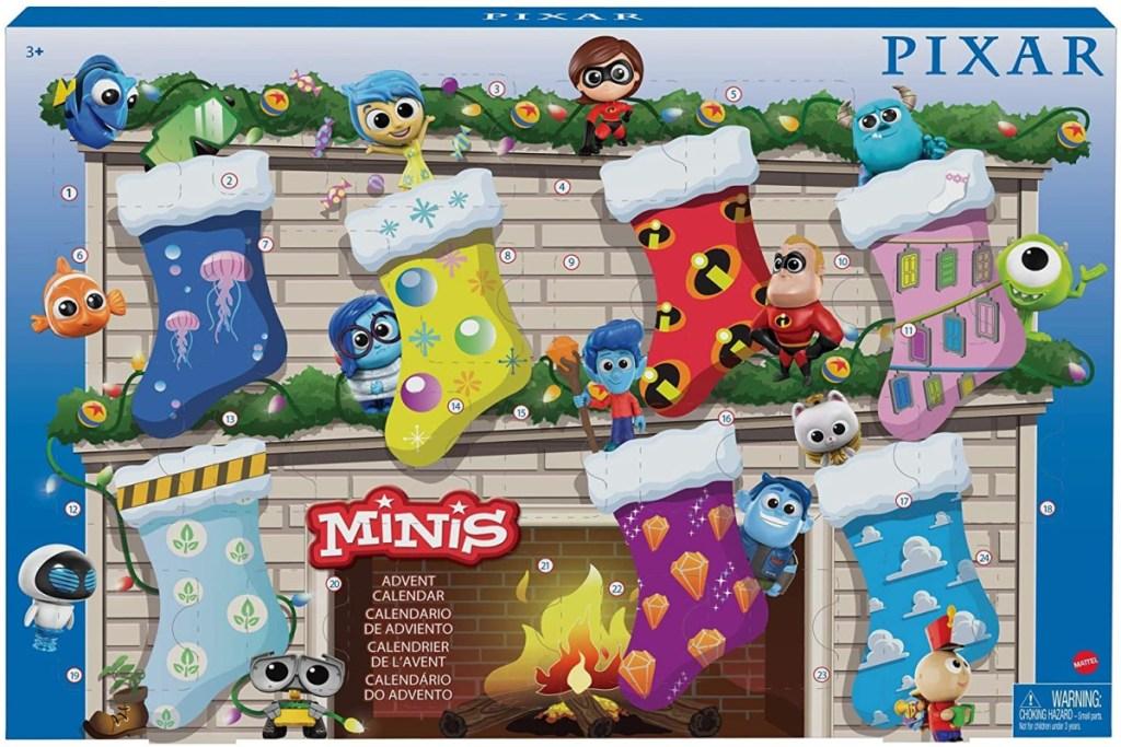 disney pixar minis advent calendar